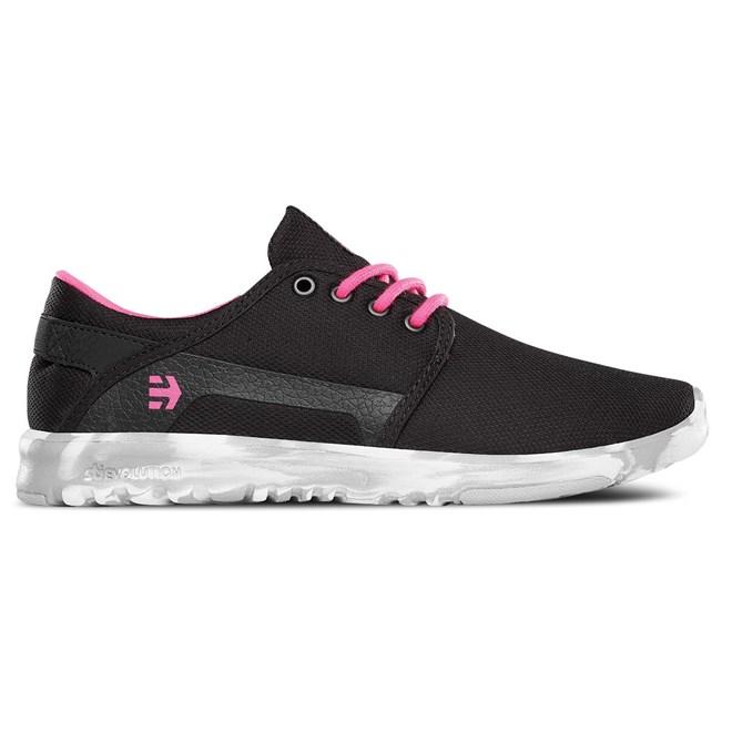 boty ETNIES - Scout Black/Pink/White (887)
