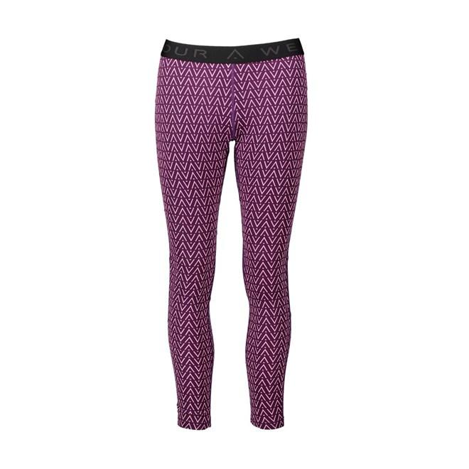 termo prádlo CLWR - Shelter Pant Grape Herringbone (322)