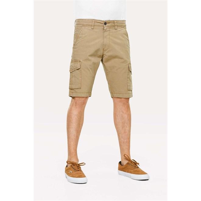 kalhoty REELL - Slim Cargo Pant Dark Sand (DARK SAND)