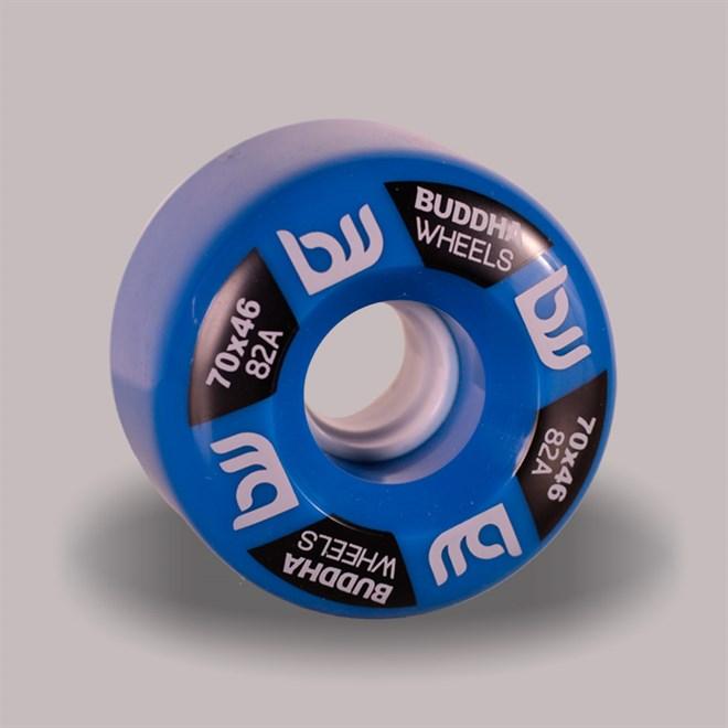 kolečka BUDDHA WHEELS - Sogi 70mm 82A (BLU)