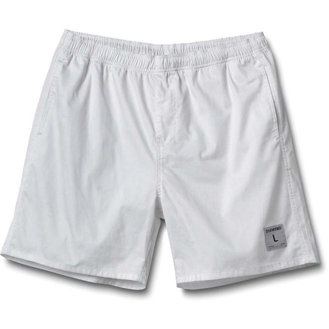 kraťasy DIAMOND - Dugout Shorts White (WHITE)