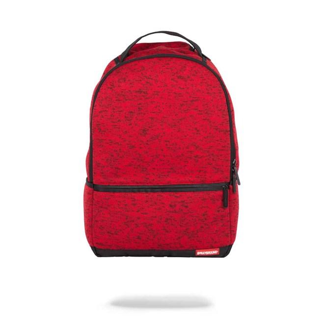 batoh SPRAYGROUND - Red Knit (000)