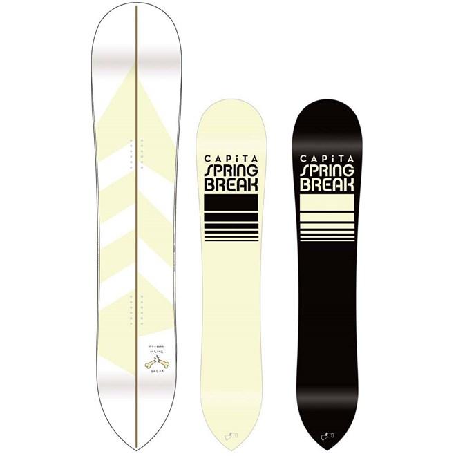 snowboard CAPITA - Spring Break - Sick SixtySix (MULTI)