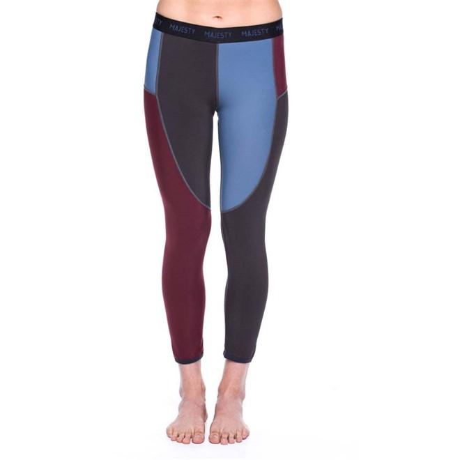 termo prádlo MAJESTY - Surface Lady Pants Burgundy (BURGUNDY)