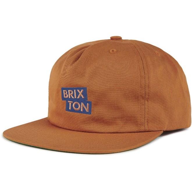kšiltovka BRIXTON - Team Mp Snbk Copper (COPPR)