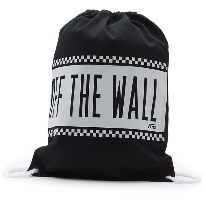 gymsack VANS - Benched Novelty Black/White (Y28)