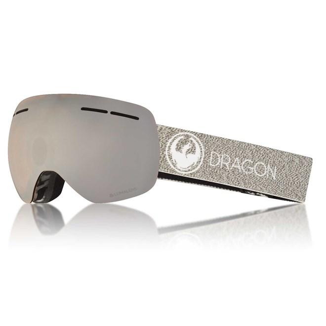 snb brýle DRAGON - X1S 3 Mill/silion+Dksmk (255)