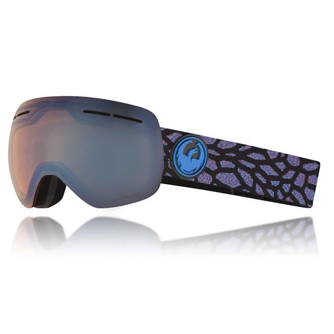 snb brýle DRAGON - X1S 3 Olio/flblue+Dksmk (870)